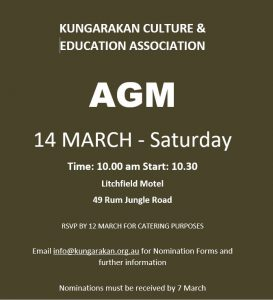 AGM 14 MARCH 2020